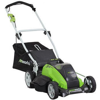 Greenworks 25292 40-Volt 4 Amp-Hour Lithium Ion 19-Inch Lawn Mower